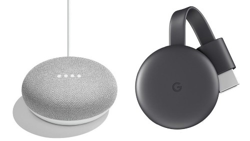 Take control of your home with the Google Home Mini and Chromecast bundle for under £50