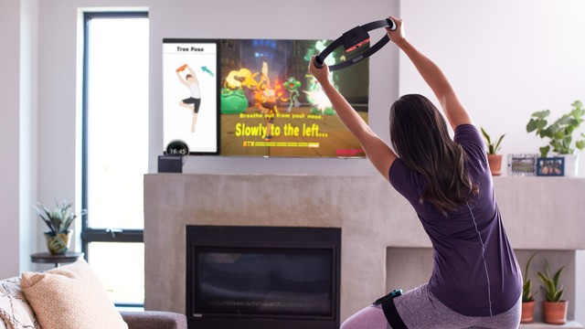 Nintendo's 'Ring Fit Adventure' turns exercise into an adventure game