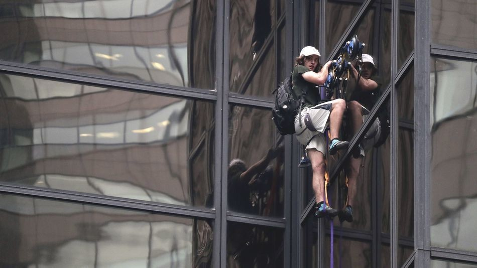 More than 80 news outlets tapped Facebook to broadcast Trump Tower climber