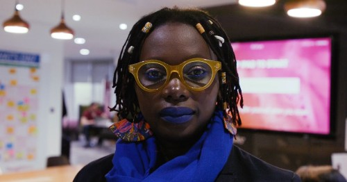 She was abandoned and abused as a child. Now she's on a mission to teach a million girls how to code