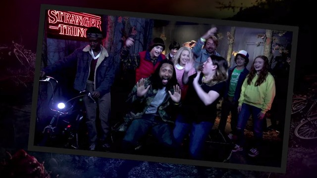 The 'Stranger Things' kids scare fans as pretend wax figures