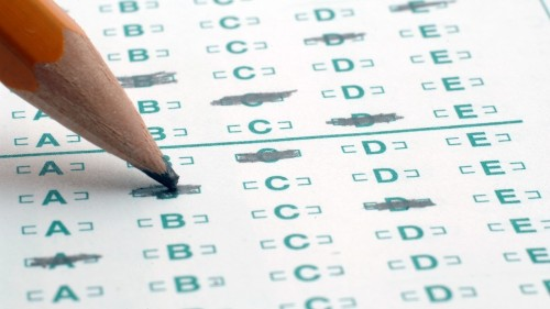 The Scantron meme is a clever nod to finals week