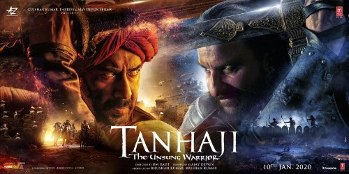 'Tanhaji: The Unsung Warrior' Posters Unveiled: Ajay Devgn And Kajol Reveal Release Date