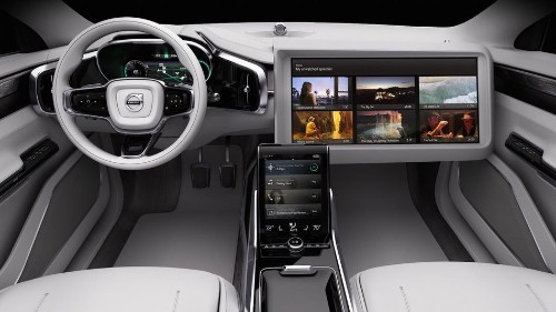 Self-driving Volvo cars will stream your favorite show during the ride