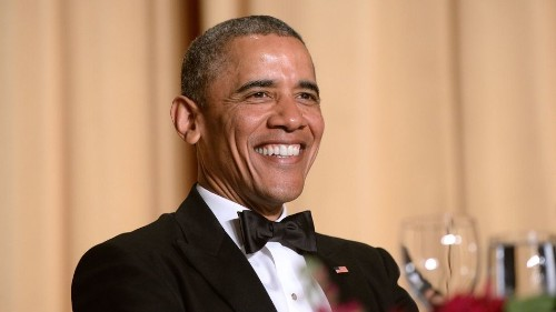 Obama gets an anger translator at White House Correspondents' Dinner