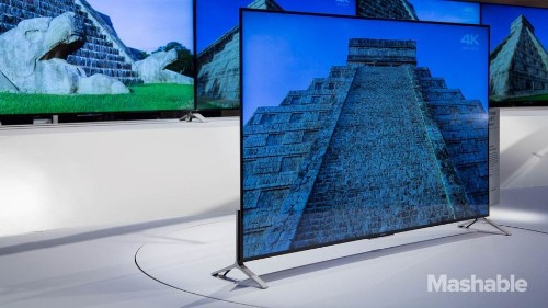Sony's Ultra HD 4K TVs that are thinner than an iPhone 6 will arrive this summer