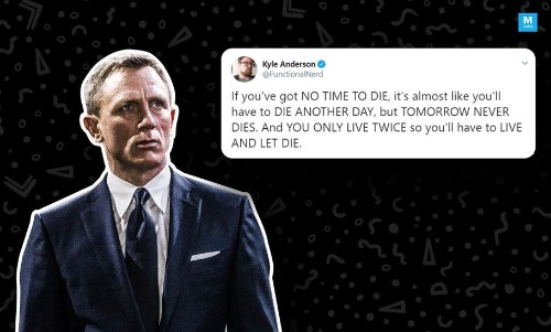 'No Time To Die': The Latest James Bond Movie Gets A Title And The Internet Reacts With Jokes