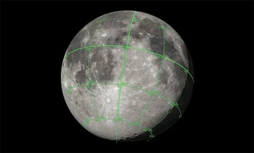 NASA Created a Free 3D Map Of The Moon For CGI Artists