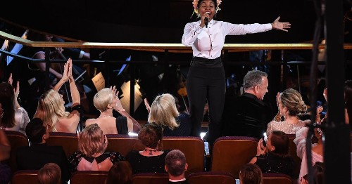 Janelle Monae shouted out Oscars So White in her Oscars opening musical number