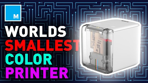 PrinCube is the world's smallest mobile color printer — Future Blink