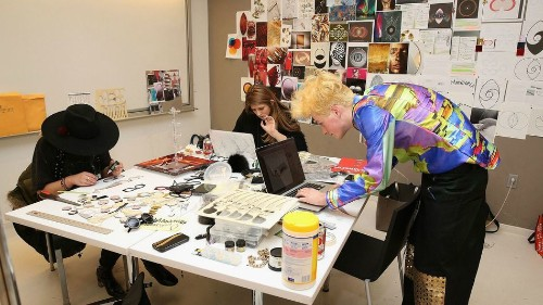 Parsons design students give wearable tech a touch of chic in fashion and design hack