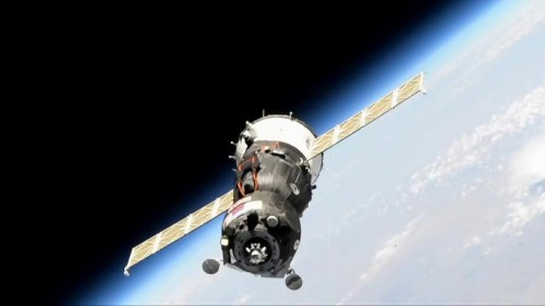 Soyuz Spacecraft Switches Docking Port Around The International Space Station