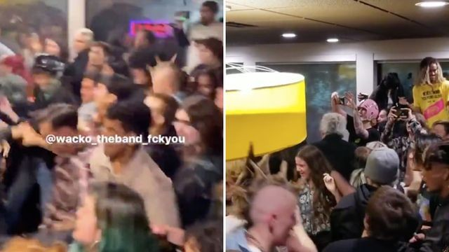 Punks close out 2019 by moshing at Denny's