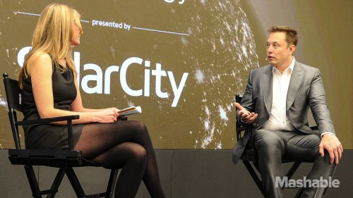 Elon Musk and SolarCity unveil 'world's most efficient' solar panel