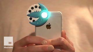 This brilliant iPhone device projects bedtime stories to your kids