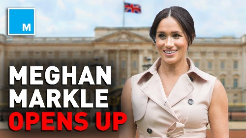Meghan Markle opens up about being a mother in the spotlight