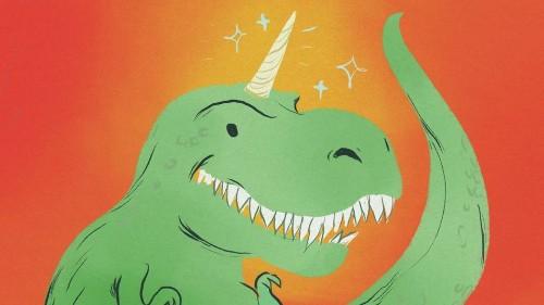 'Dinocorns' is the sad new name for big, aging startups like Uber and Snapchat