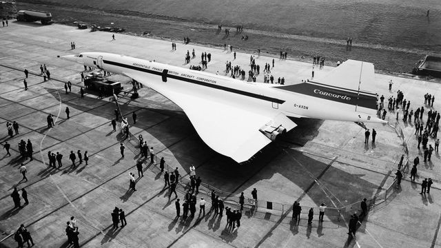 Developing Concorde, the first supersonic passenger jet