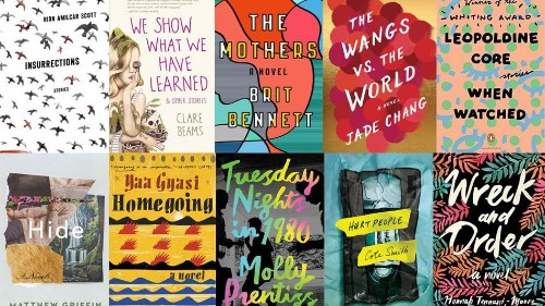 Here are the books longlisted for the 2017 PEN Literary Awards