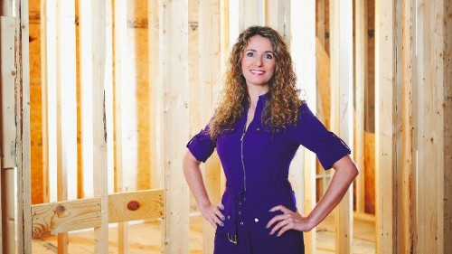 Single mom builds a house from the ground up using YouTube tutorials