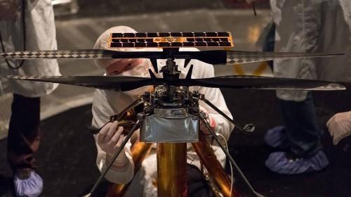NASA Has Augmented The 2020 Martian Rover With An Autonomous Drone