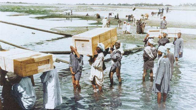 Emptying Tutankhamun's tomb took 8 years of painstaking labor
