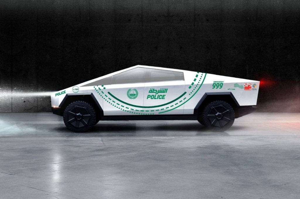 Police around the world are showing interest in using the Tesla Cybertruck as patrol vehicles
