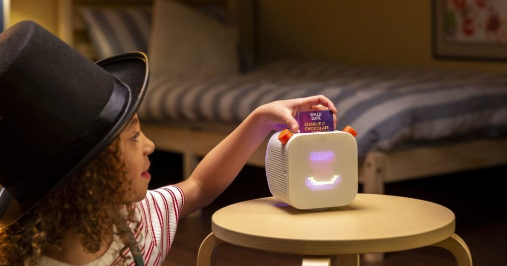 Speakers for kids let them play audiobooks on their own terms