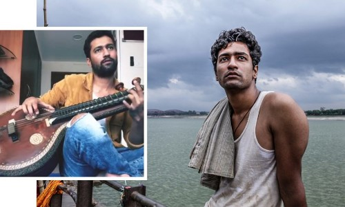 Watch Vicky Kaushal Celebrate 4 Years of 'Masaan' By Playing 'Mann Kasturi' On A Veena