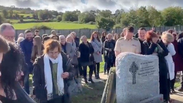 Irish man hilariously pranks his family at his own funeral