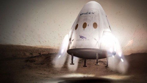 Elon Musk's SpaceX wants to send a spacecraft to Mars by 2018