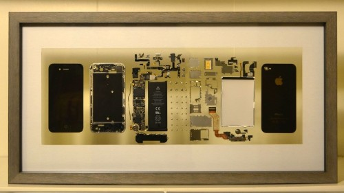 Your dead iPhone can live on as beautiful artwork
