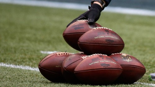 How many balls does each major sport require per game?