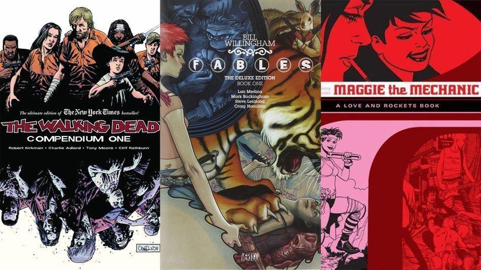 12 comic book series you can binge-read this week