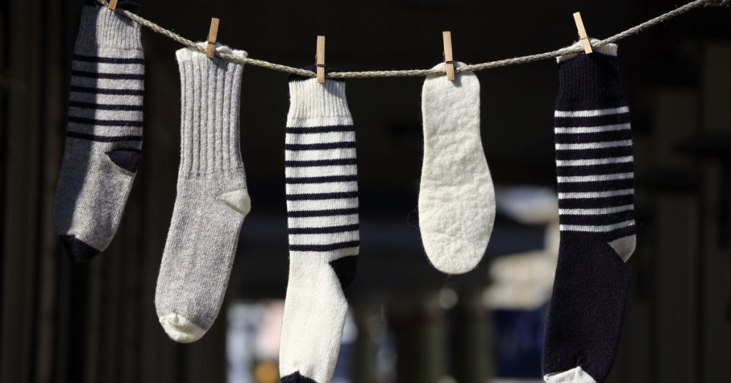 'Smell-repelling' socks exist, and you'll never have to do laundry again