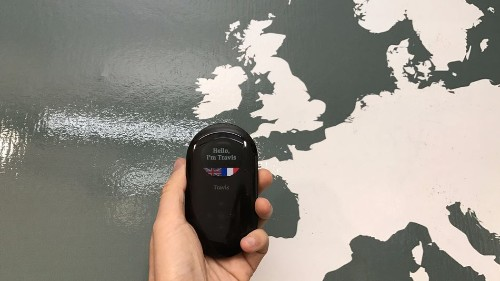 This gadget can let you talk in up to 80 languages