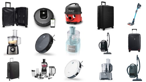 The best UK deals for Tuesday: Eufy robot vacuum cleaners, Samsonite luggage, Kenwood food processors, and more