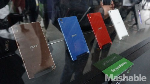 Acer is done selling smartphones in the world's fastest growing market