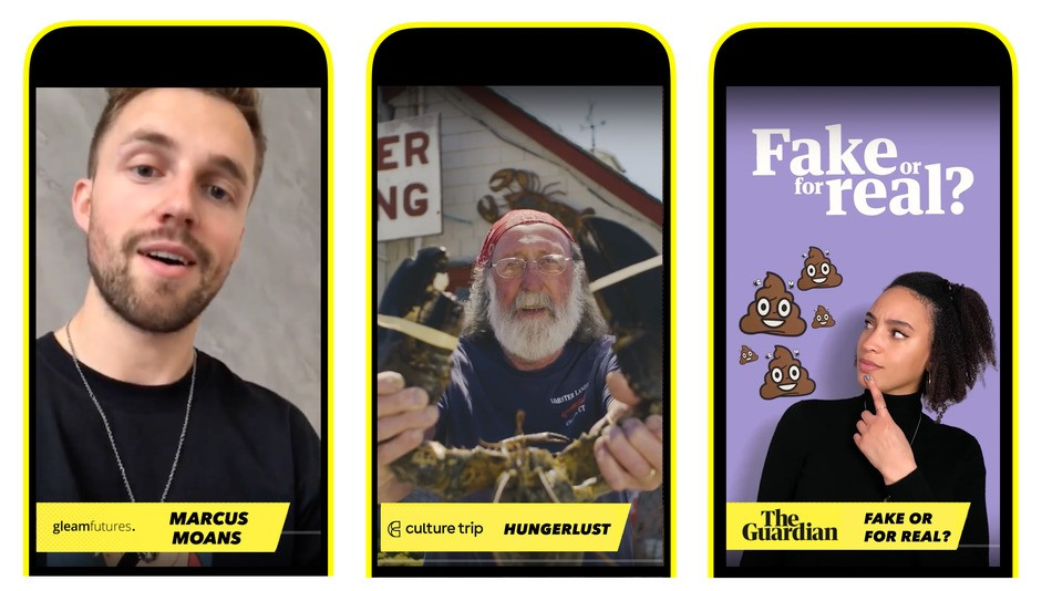 Snapchat launches 26 new premium video series in the UK
