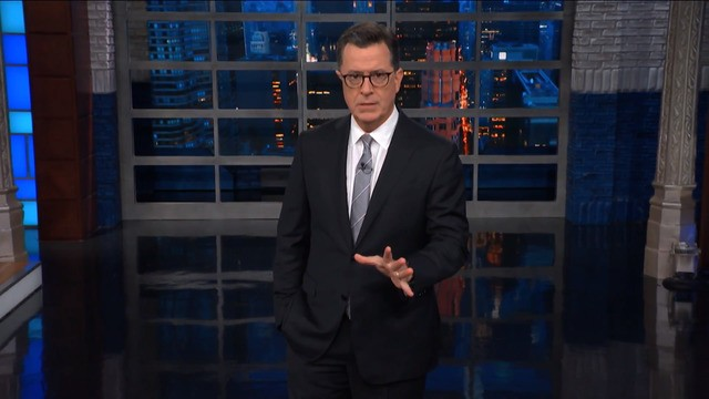 Stephen Colbert unpacks Christine Blasey Ford's 'heartbreaking' testimony at Kavanaugh hearing