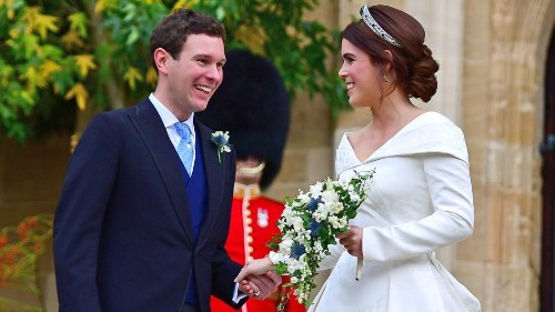 Princess Eugenie's wedding dress carried an inspiring message about self-image