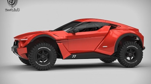 You can drive this $100,000 SandRacer on the street