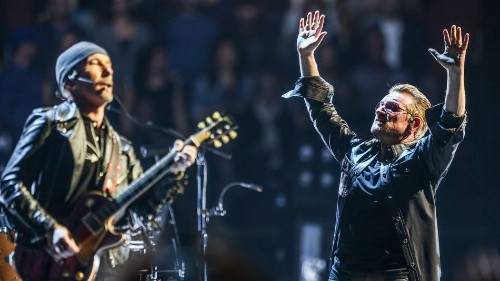 The most innovative part of U2's tour is something the audience never sees