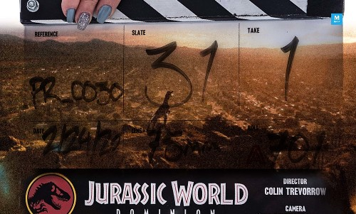 Chris Pratt And Co. Reveal 'Jurassic World 3' Title On First Day Of Filming