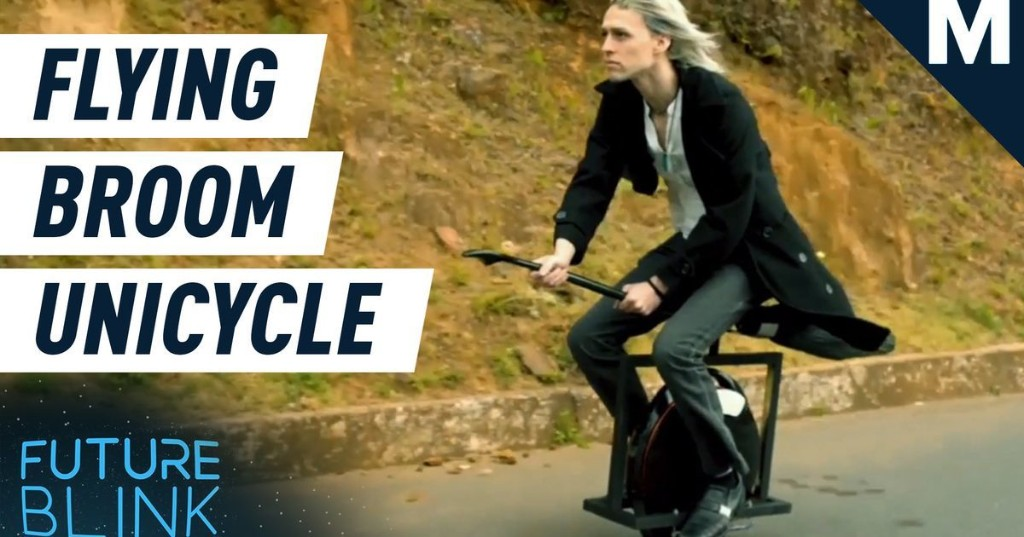 Harry Potter's Electric Flying Broom Unicycle