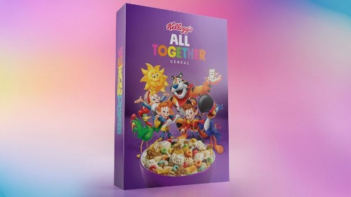 Kellogg's releases limited edition cereal box to stem LGBTQ bullying