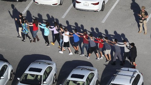 During the shooting, Snap Maps took viewers inside the Florida high school