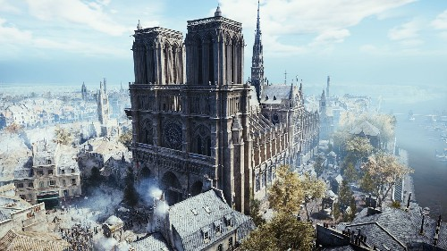 Ubisoft pledges its support to the Notre-Dame Cathedral