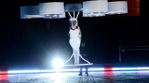 Team behind Lady Gaga's flying dress to bring wearable tech to a store near you