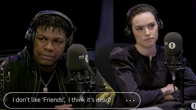 John Boyega and Daisy Ridley share their most unpopular opinions and things escalate quickly